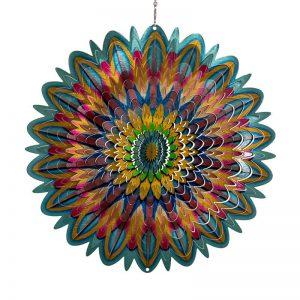 Mandala Flower Wind spinner