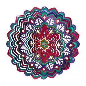 MANDALA Kaleidoscope wind spinner