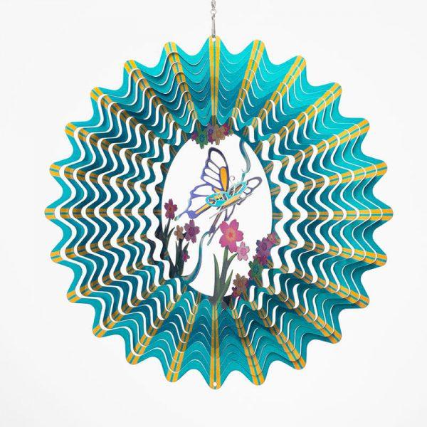 3D Butterfly Wind spinner