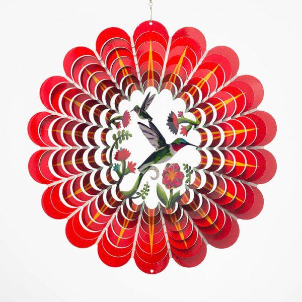 3D Humming bird wind spinner