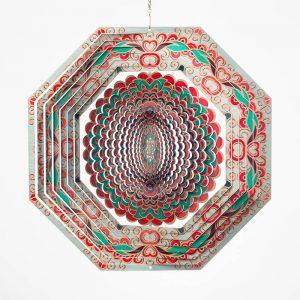 Mandala Octagon wind spinner