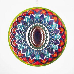 Mandala Rainbow Wind Spinner