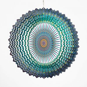 Mandala Space Wind Spinner