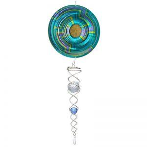 Mandala Swirl Artist Crystal Tail