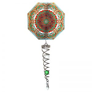 Mandala Octagon Artist Crystal Tail