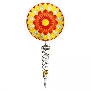 Mandala Sun Artist Crystal Tail