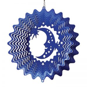 Moon & Stars Wind Spinner