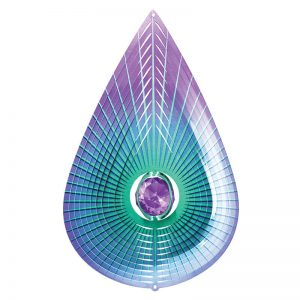 Crystal Purple Teardrop